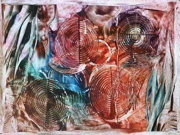 Kreisel - bunt von Katrin Behr