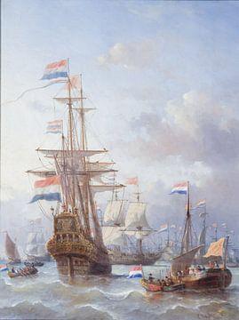 Der Ausflug nach Chatham - Everhardus Koster von Meesterlijcke Meesters