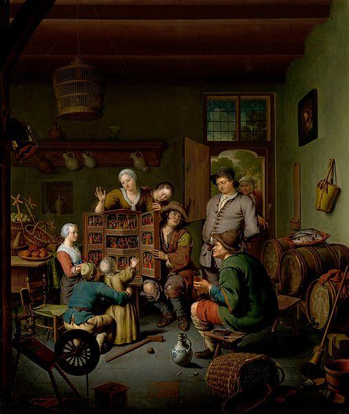 Die Seltene Schau ('t Fraay Curieus), Willem van Mieris von Meesterlijcke Meesters