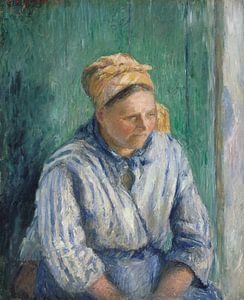Wasvrouw, Studie, Camille Pissarro