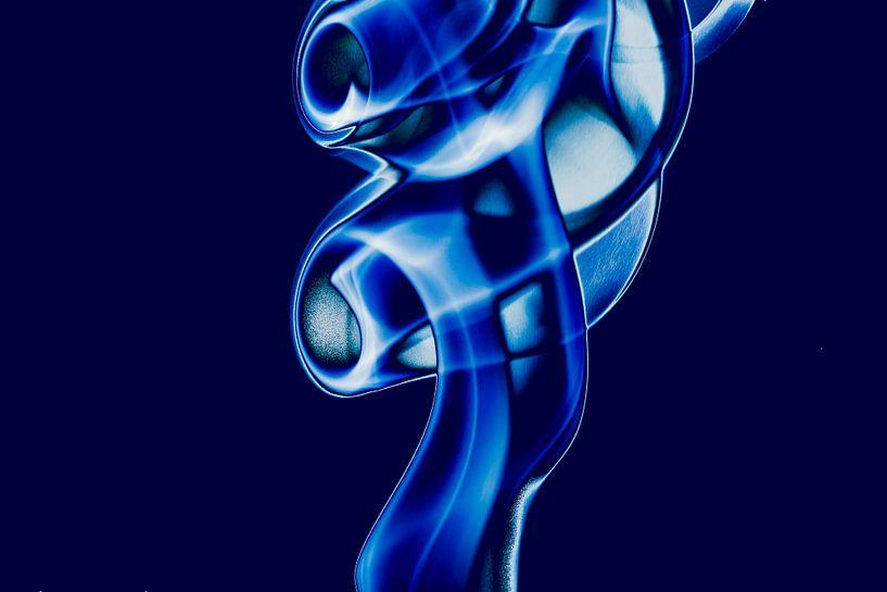 Curved Blue van Hans Krijnen