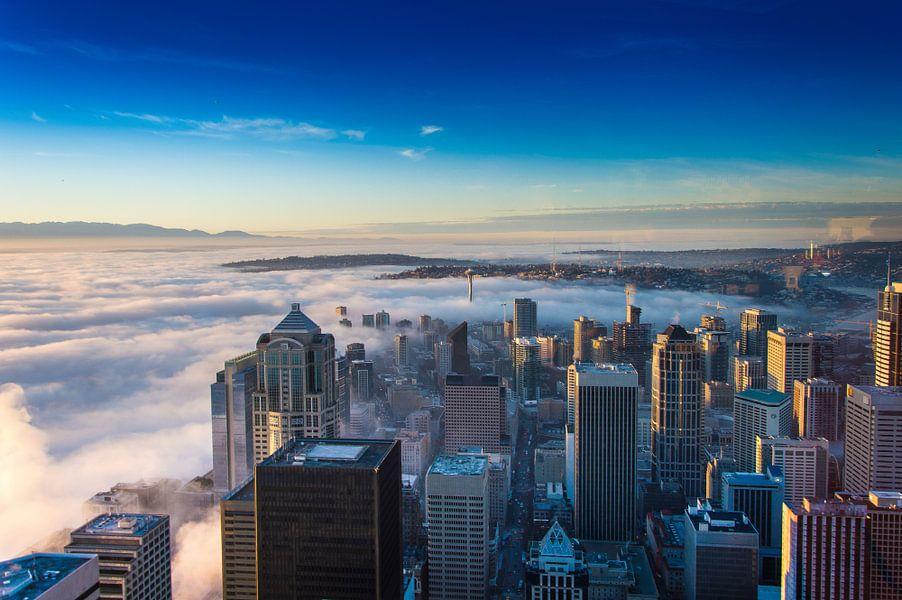 Skyview Seattle van Marco Faasse