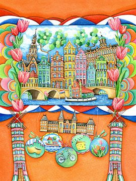 Amsterdam - Europa for Kids sur Atelier BuntePunkt