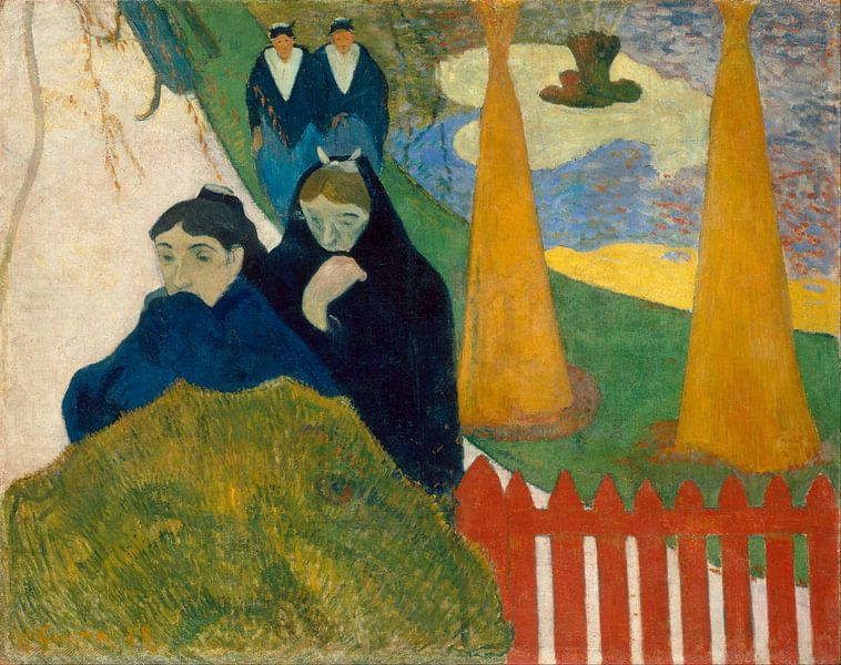 Paul Gauguin. Arlésiennes von 1000 Schilderijen