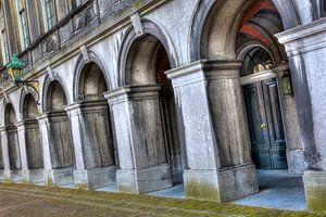 Kleur Poorten binnenhof Den Haag van
