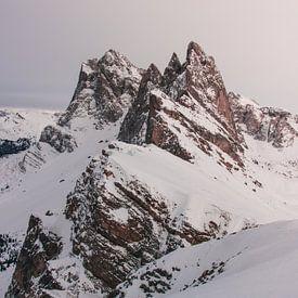 Seceda 2500m - Dolomieten van Max van der Weide