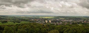 Panorama Vaals vanaf de Wilhelminatoren