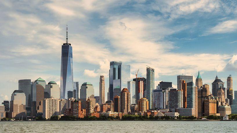 New York city skyline van Thea.Photo