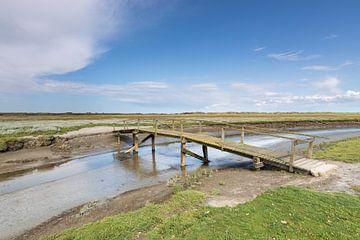 Brücke über Oerdsloot von Anja Brouwer Fotografie