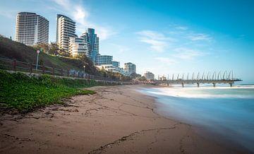 Der Strand von Durban in Südafrika. von Claudio Duarte