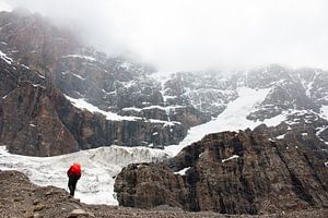 Een stroom van ijs en sneeuw van Jan Bakker