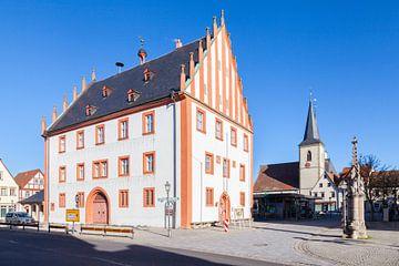 Rathaus von Haßfurt in Unterfranken von Jan Schuler