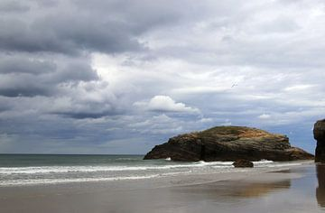 Rochers de la Playa de las Catedrales sur Jan Katuin