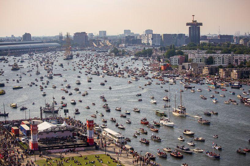 Sail Amsterdam Thank You Parade sur Remco Bosshard