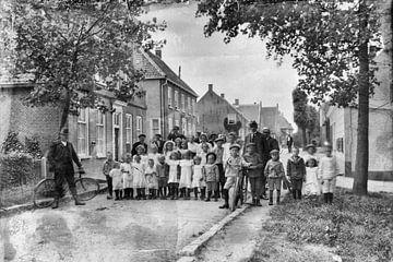 Het dorp loopt uit van