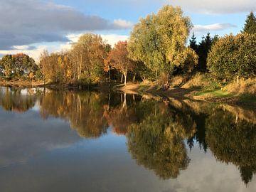Herfst spiegel von Picture Jo