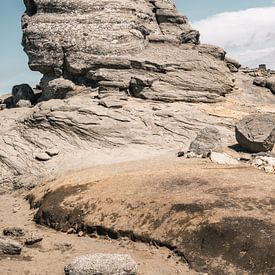 Sfinx, beroemde rots in Roemeense bergen van Lorena Cirstea