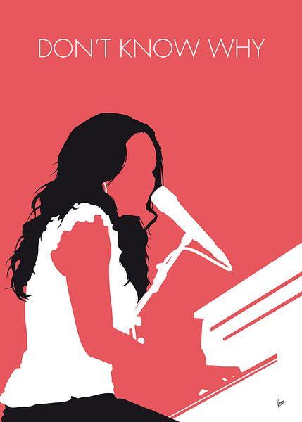No252 MY Norah Jones Minimal Music poster von Chungkong Art