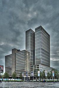 Rotterdam Met donkeren wolken  van
