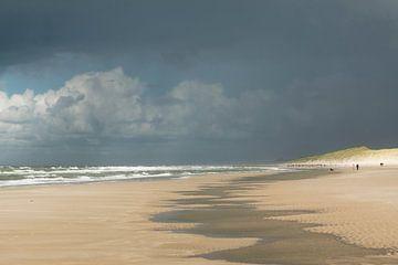 Landscape 'dreiging aan zee' von Greetje van Son