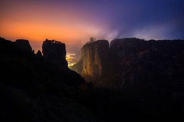 Meteora, Kalabaka, Griekenland van Konstantinos Lagos