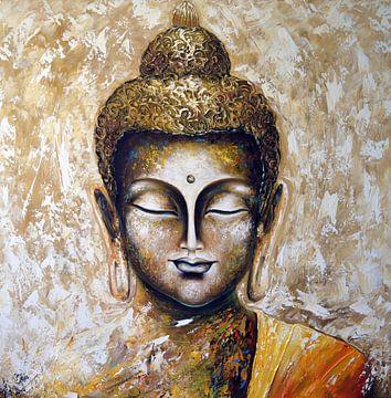 Buddha sur Gena Theheartofart