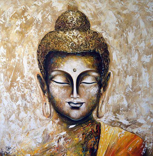 Buddha von Gena Theheartofart