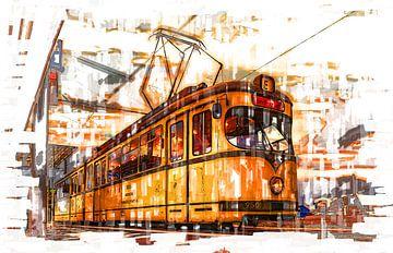 Straßenbahn in Düsseldorf von Johnny Flash