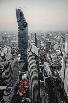 Le paysage urbain de Bangkok sur Flave_de