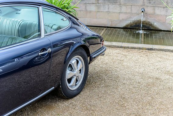 Klassieke Porsche 911 Sportwagen van Sjoerd van der Wal