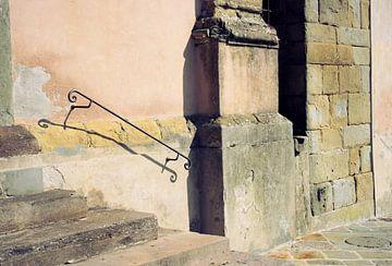 Muur in Lucca van Jessica van den Heuvel