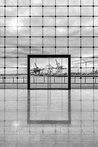 Hamburger Hafen in schwarzweiß von Tilo Grellmann | Photography