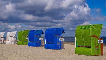 Buntes am Strand von Friedhelm Peters