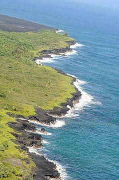 De kust van Hawaii