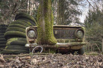 Urbex - Auto von Angelique Brunas