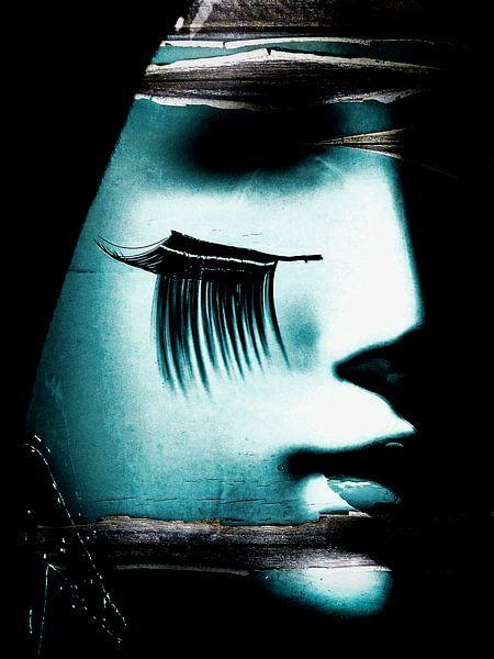 Black eyelashes van Gabi Hampe