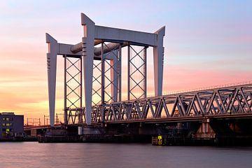 Eisenbahnbrücke Dordrecht von Anton de Zeeuw