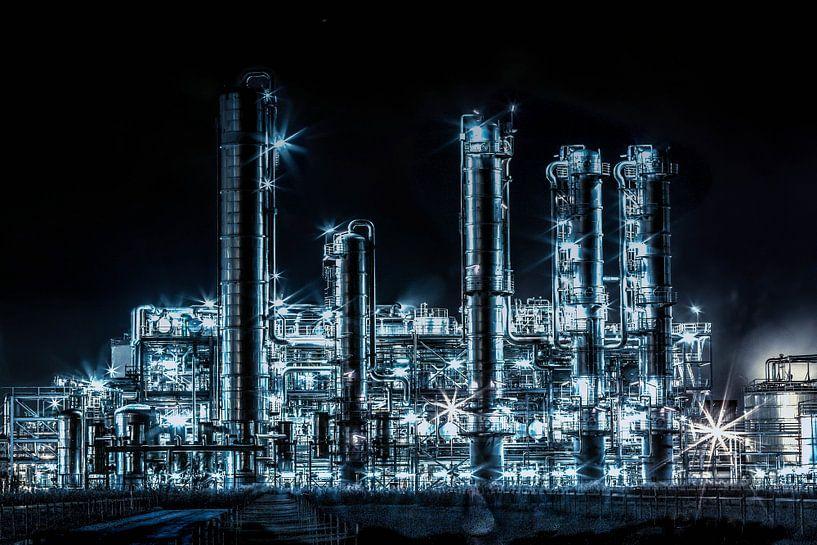 Industrial Harbour  van Robin Bulters