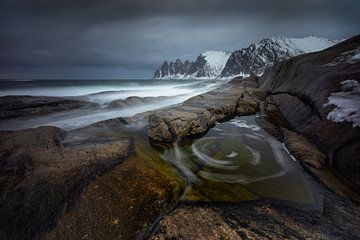 Tugeneset rocky coast van