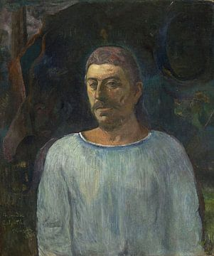 Zelfportret (Bij Golgotha), Paul Gauguin