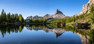 Lago di Federa in den Dolomiten von Achim Thomae