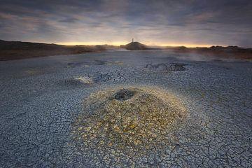 Het geothermale veld. van Sven Broeckx