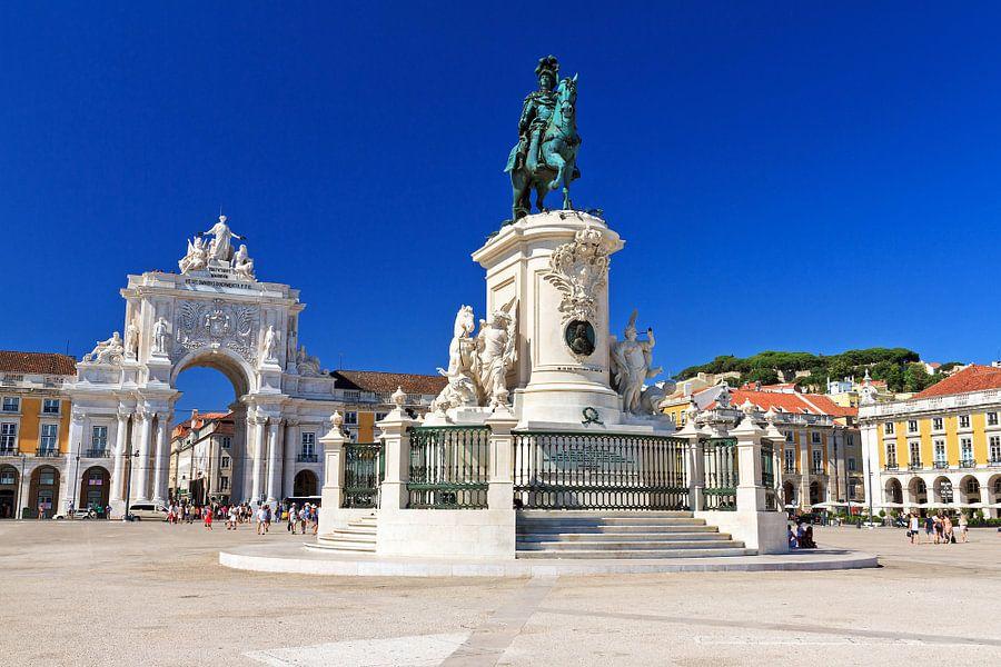 Praça do Comércio Lissabon