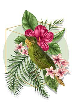 L'oiseau de l'été van Marja van den Hurk