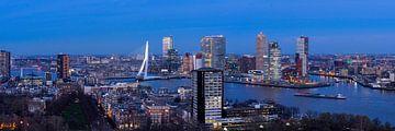 Skyline Rotterdam III van Peter Sneijders