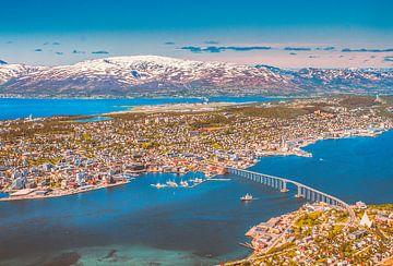 Tromsø het Parijs van het noorden. van Hamperium Photography