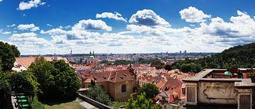 Praag (39megapixel panorama) van Thomas van der Willik