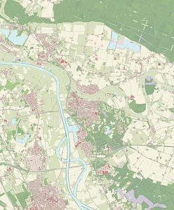 Kaart vanGennep