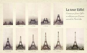 De bouw van de Eiffeltoren