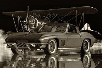Chevrolet Corvette Stingray 427 Een echte legendarische auto van Jan Keteleer